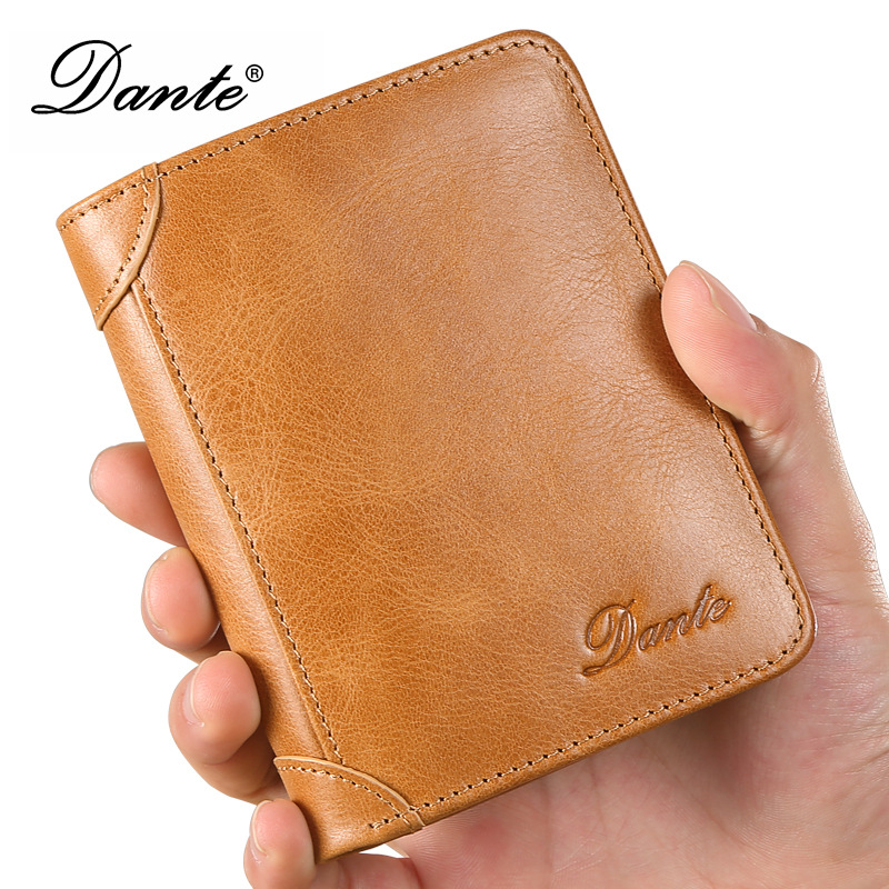 DANTE fashion vintage men wallets genuine leather luxury brand male bifold card holder wallet purse wolf head men wallets genuine leather wallet fashion design brand wallet leather man card holder purse page 10