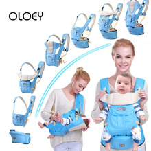 OLOEY Baby Carrier 7 In 1 for 0-36m Infant Toddler Ergonomic Sling Backpack