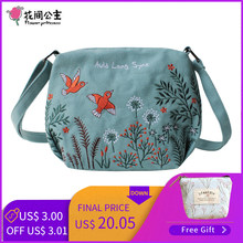 6f476a7c1caba Flower Princess Women High Quality Bag Girls Shoulder Crossbody Messenger  Bags Female Lady Luxury Designer Small Canvas HandBag
