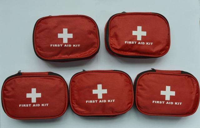 Seguro de Sobrevivência Na Selva Ao Ar Livre Kit de Primeiros Socorros de Viagem Camping Caminhadas Kits De Emergência Médica Tratamento Pacote Conjunto FAK-S05