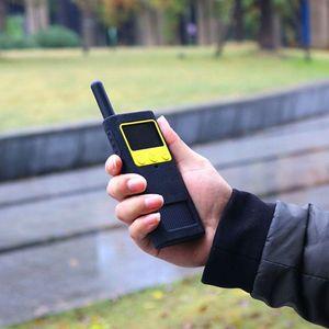 Image 4 - Capa protetora caso de silicone luva da pele acessórios portáteis para xiaomi mijia inteligente walkie talkie 1 s rádio