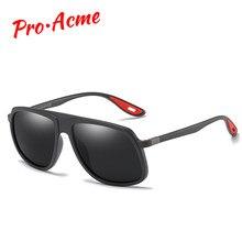 f94eb3314a Pro Acme Marque Design lunettes de soleil classiques Hommes Conduite Homme  lunettes de soleil Polarisées Unique Temple Ultra-lég.