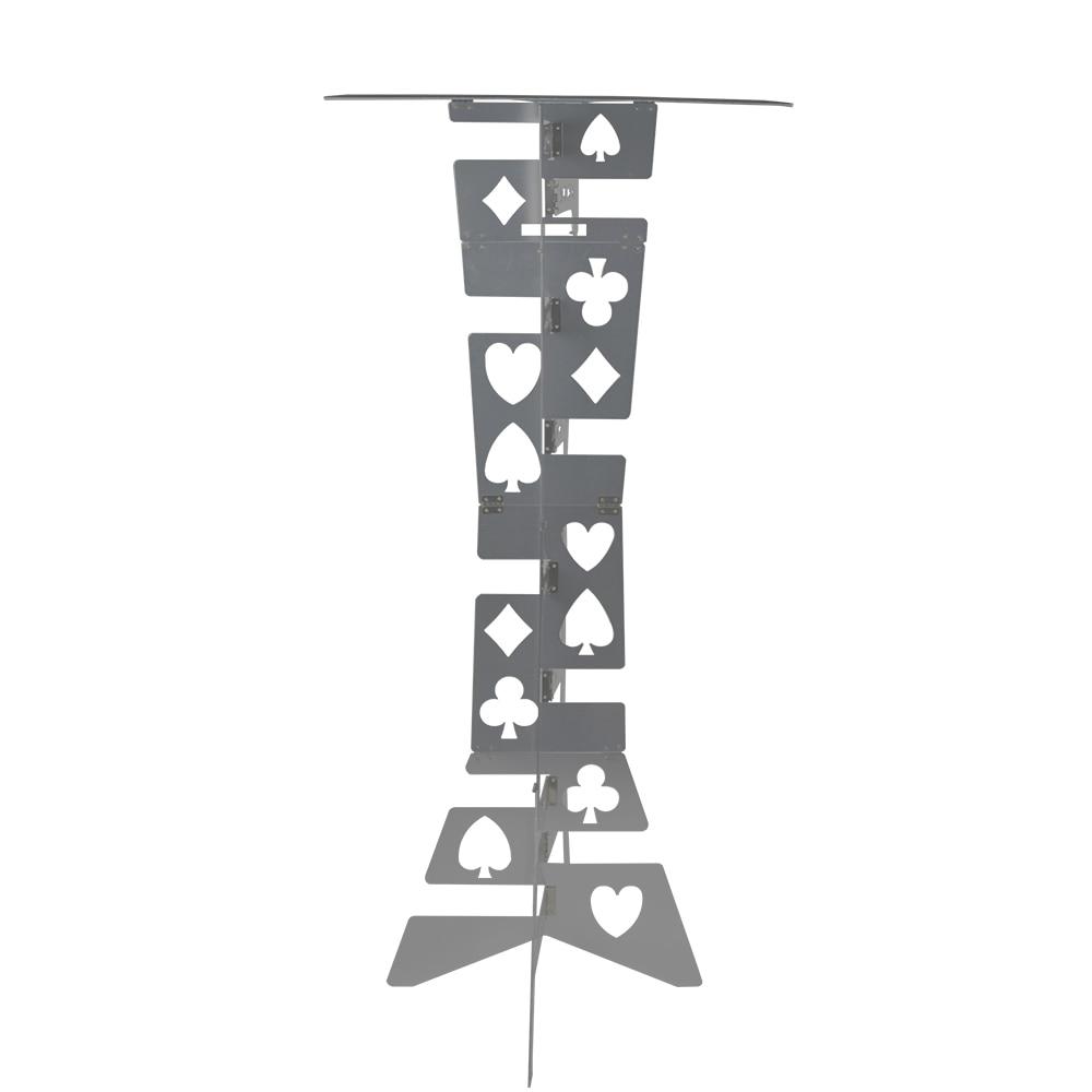 Magie d'aluminium Table Pliante (Alliage) -argent Couleur Des Tours de Magie Magicien de Meilleure Table Stade Close Up Illusions Magia Accessoires - 2