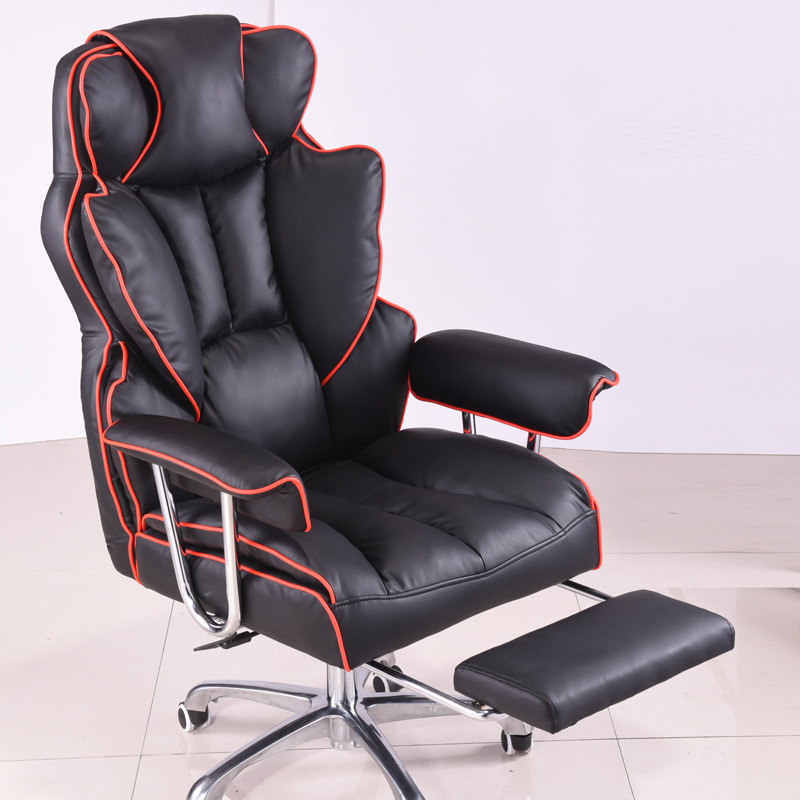 Furniture Office manager Rotate Ecological skin chair