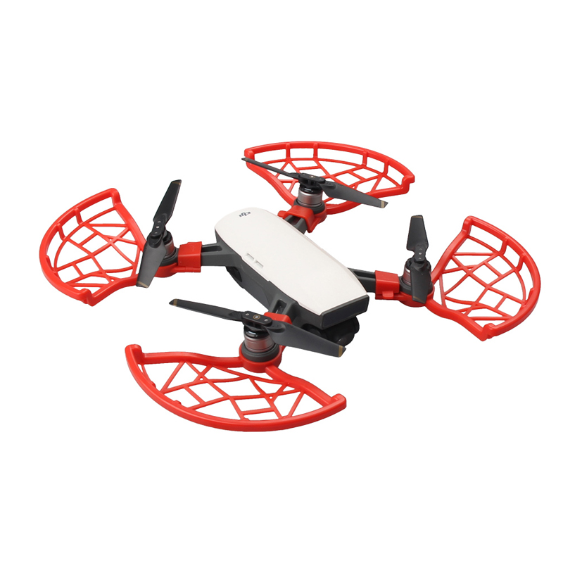 5 Pcs Propeller Guard protection ring Blade Flight protective cover For DJI SPARK Spare parts Accessories  1 (4)