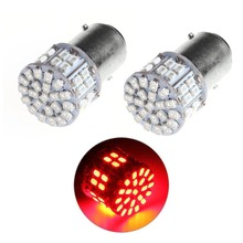 12V Red 1157 BAY15D 50SMD 1206 6000K LED Light Car Tail Stop Brake Turn Signal Strobe light Lamp Bulb Auto