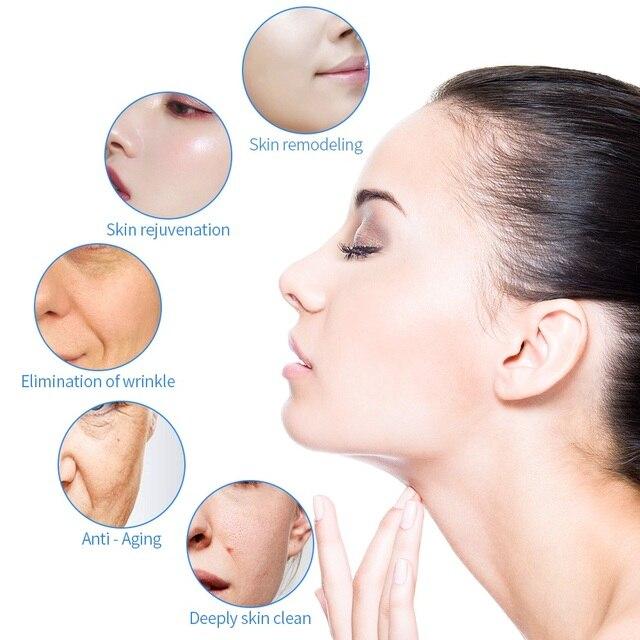 6 In 1 Water Oxygen Jet Aqua Peeling Hydra Beauty Facial Skin Deep Cleansing Machine Professional Hydro Dermabrasion SPA Salon 2