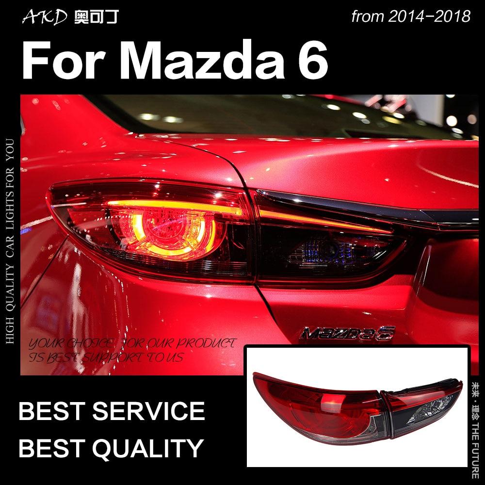 2018 Mazda Mazda6 Camshaft: AKD Car Styling For Mazda 6 Tail Lights 2014 2018 Mazda6