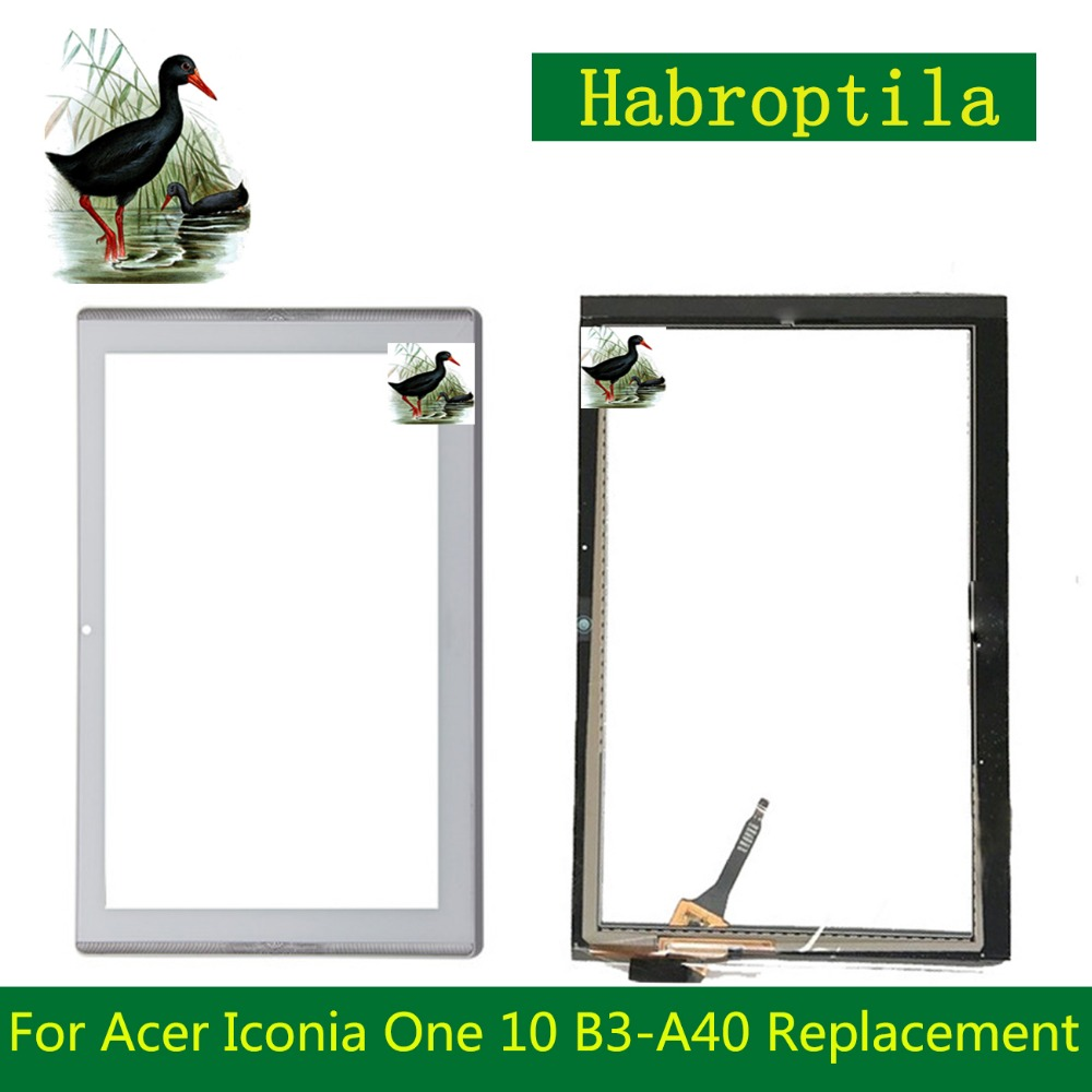 Touch SCreen For Acer Iconia One 10 B3-A40 Replacement Touch Panel Digitizer Glass 10 1 for acer iconia tab 10 a3 a40 tablet pc touch screen digitizer glass panel with black frame replacement parts