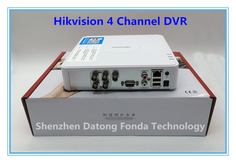 US $49 9 |Hikvision DVR 4 Channel DVR DS 7104HW E1 support 1080P H 264 for  CCTV camera Surveillance Camera-in Surveillance Video Recorder from