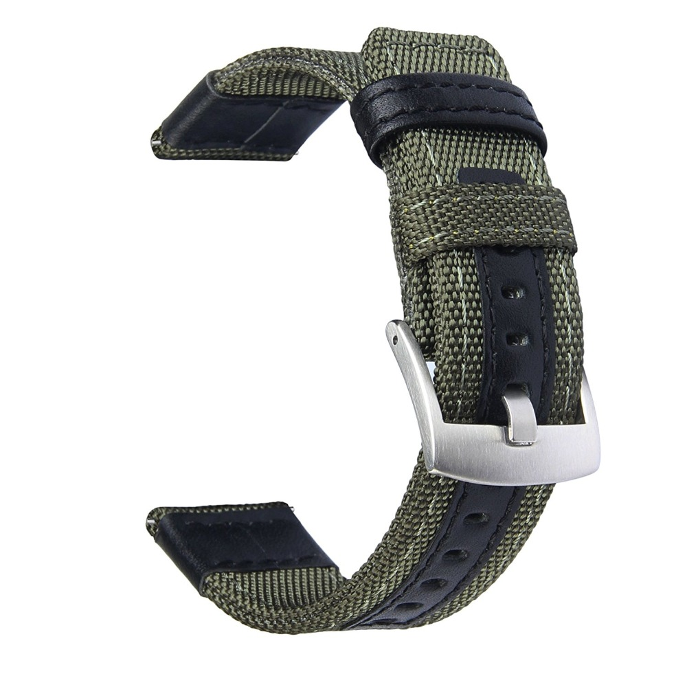 V-moro Newest Fashion Breathable Watch Straps For Samsung Gear S3 Strap Band Premium Woven Nylon For Gear S3 GearS3 Watch Bands lord foresta umbra moro 50x50