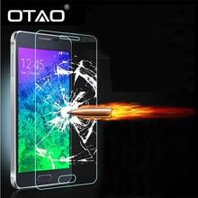 Для Samsung Galaxy A3 A5 A7 A8 A9 Note2 Note3 Примечание Note5 закаленное Стекло-Экран Протектор Фильм HD Полный Ясно 9 H 2.5D Анти Аварии