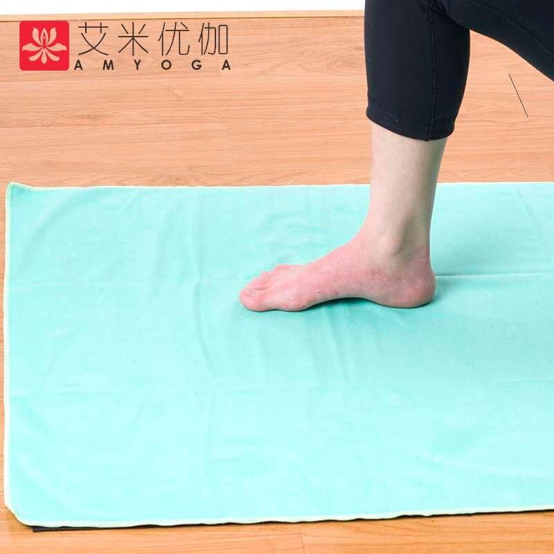 Dvoslojni ručnik joga od mikrofibera, brzo suh i lijep znoj upijaju - Sportska odjeća i pribor - Foto 4