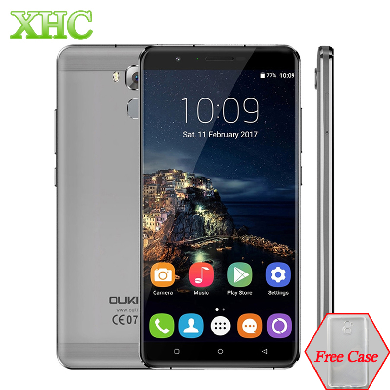 bilder für OUKITEL U16 Max 32 GB Handy RAM 3 GB 6,0 zoll Android 7.0 MTK6753 Octa-core 1,3 GHz Smartphone Fingerabdruck 4000 mAh Handy