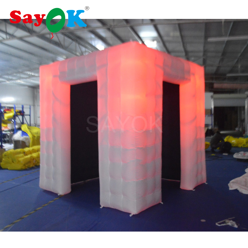 Wedding photo booth props inflatable photo booth shell
