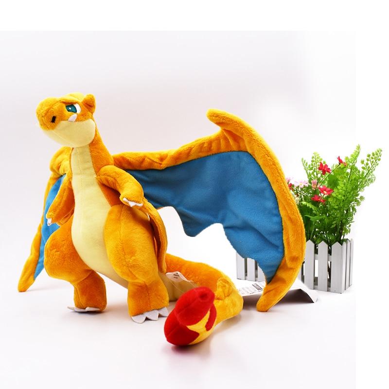 10 Pcs/lot Mega Charizard Y Mega Evolution  Peluche Animal Quality Toys Stuffed  Plush  For Kids 8