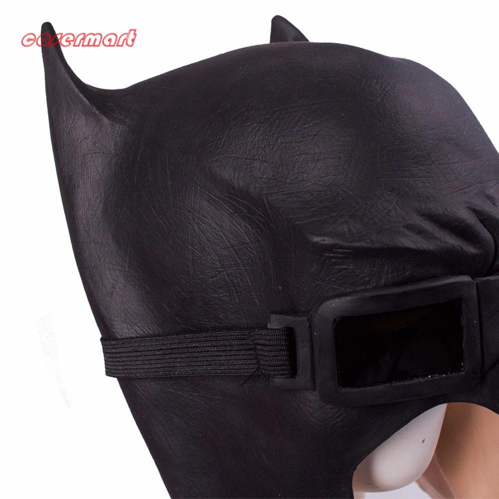 Batman Masks Full Head Latex Batman Vs Superman Masks With Glasses Dark Knight  Mask Cosplay Batman Masks Halloween Party (7)