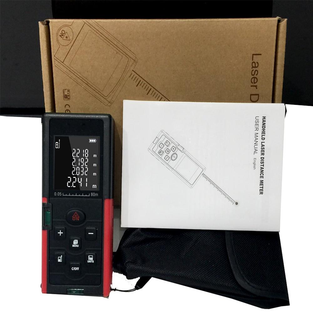 lézer távolságmérő 40M 60M 80M 100M távolságmérő lézer - Mérőműszerek - Fénykép 6