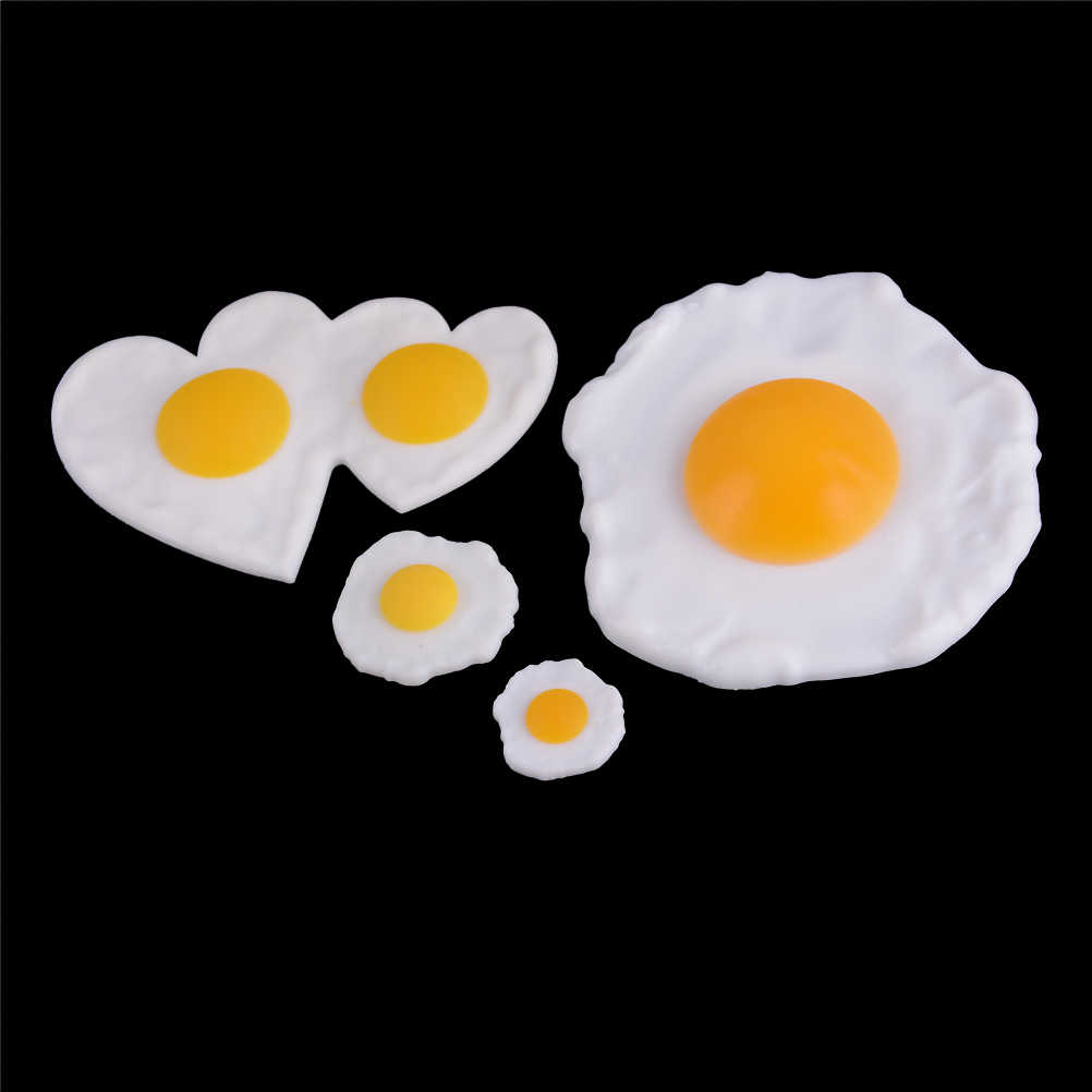 Simulasi Rebus Telur Goreng Makanan Palsu Simulasi Bermain Mainan Ponsel Case Dekorasi