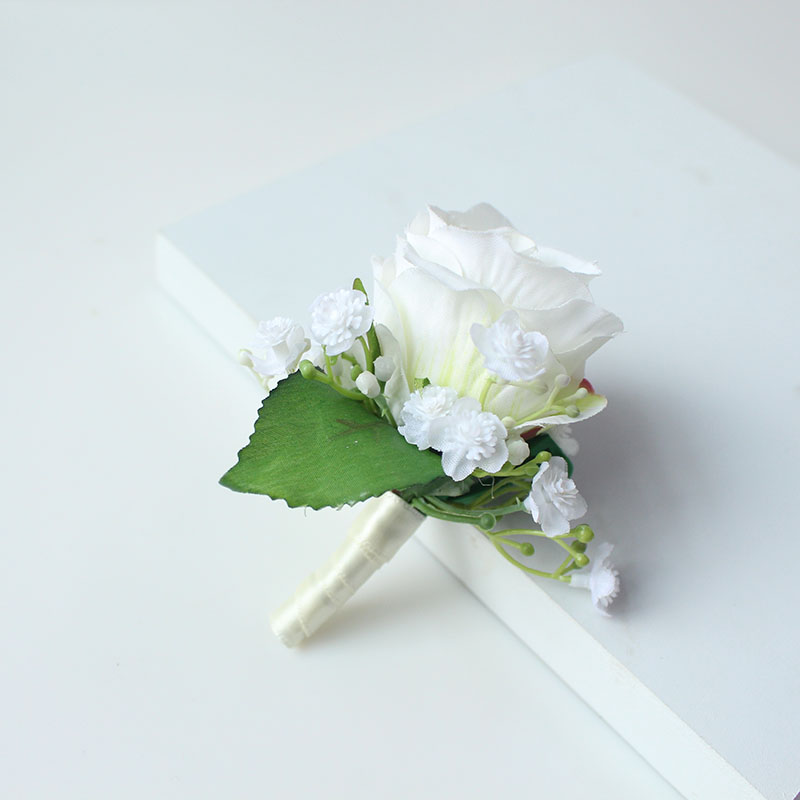 wedding boutonniere corsage groom  (32)