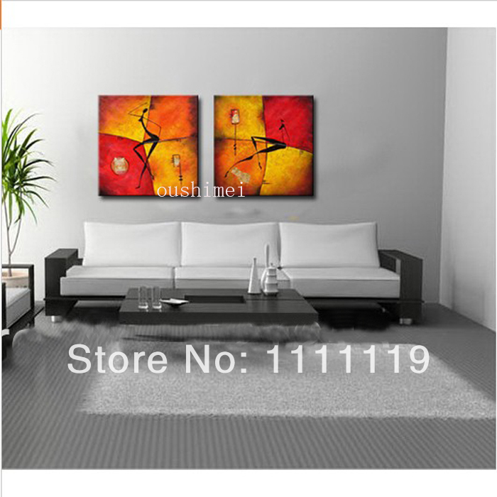 Handpainting Wall Art Decor Lady Abstract Portrait Canvas Picture Handmade Modern Y Gril Oil Painting On Artwork In Calligraphy