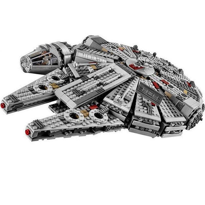 Lepin 05007 Force Awakens Millennium Falcon Building Blocks Compatible Legoingly Star Set Wars 75105 Kids Lepin Bricks Toys стоимость
