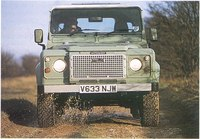 G2 & amp Land Rover Land Rover Land Rover D90 Metall Geändert Grille