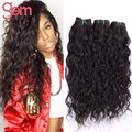 Peruvian Water Wave 3 Bundles Queen Peruvian Virgin Hair Peruvian Ocean Wave Pineapple Wave Virgin Hair Wet And Wavy Human Hair