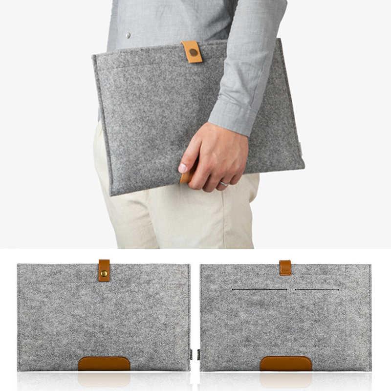 11 13 14,1 15,4 15,6 17,3 дюймов Мода шерсть чехол для ноутбука, войлок для Macbook/lenovo/hp/Dell тетрадь чехол MacbooK Air 13 рукав