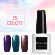 FOCALLURE New Series 95 Colors 7ML Gel Nail Polish Soak off Nail Gel Polish Gel UV LED