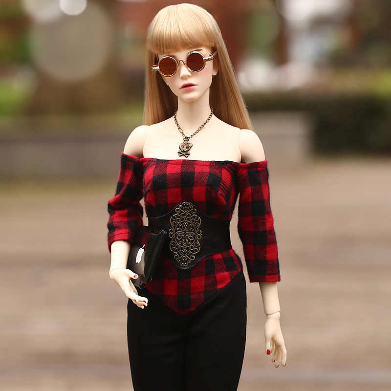 New Arrives Raffine  Iplehouse FID BJD Dolls 1/4 High Quality Fashion 45.5cm Gril Body For Girl Toys Best Birthday Gifts IP
