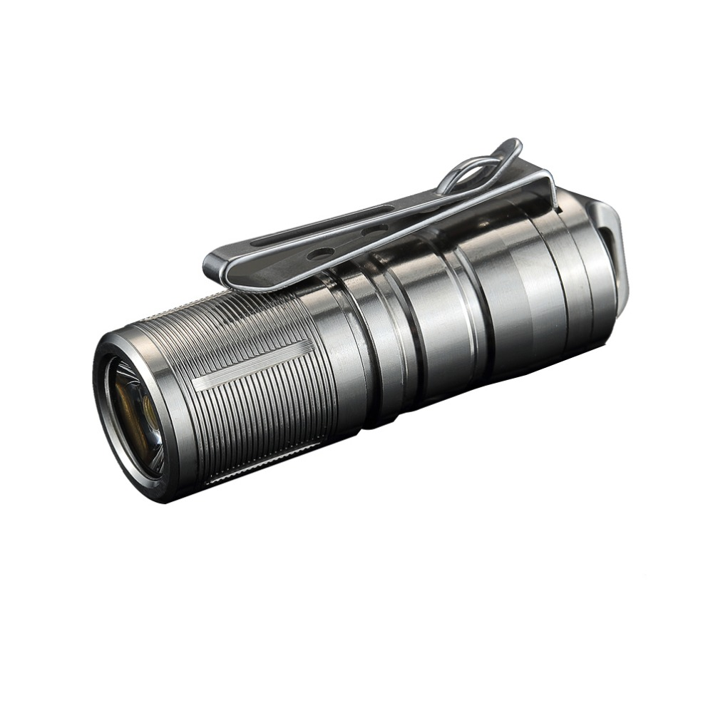 Jetbeam MINI-1 Super Mini Powerful and Rechargable Cree XP-G2 LED Led Flashlight Titanium Keychain by 10180 Battery jetbeam jet i mk 480lm cree xp g2 led edc flashlight