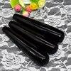 7 Inch Natural Black Obsidian Yoni Wands Pleasure Sticks For Women 10 Pcs Crystal Dildo Penis