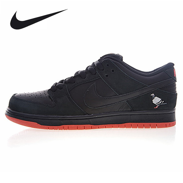 buy popular c5ff4 05579 Nike Staple X Dunk SB Low Black Pigeon,Men s Original Skateboarding Shoes, Comfort High Quality Black Shoes 883232-008