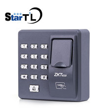 ZK дактилоскопическая машина контроля доступа доступ к двери сканер отпечатков пальцев для RFID система контроля допуска к двери X6
