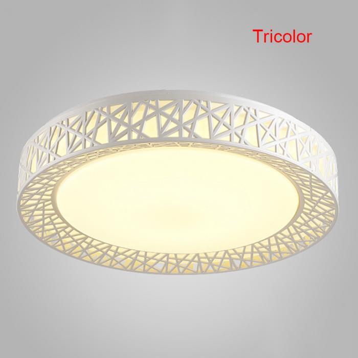 Cool Ceiling Lights | Circular Ceiling Light | Newest LED chandelier Bird Nest Round raven Lamp Modern Fixtures For Living Room Bedroom Kitchen Modern Light-KK Diameter 27cm