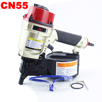 YOUSAILING Quality CN55 Roofing Pneumatic Nailer Gun Air Nailing Gun Pneumatic Framing Nail Gun Coil Nailer Air Nailer Tool
