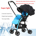 Beau Tech Light Folding Baby Stroller Baby Stroller Two-way Baby Stroller Car Umbrella Accessories European Baby Strollers