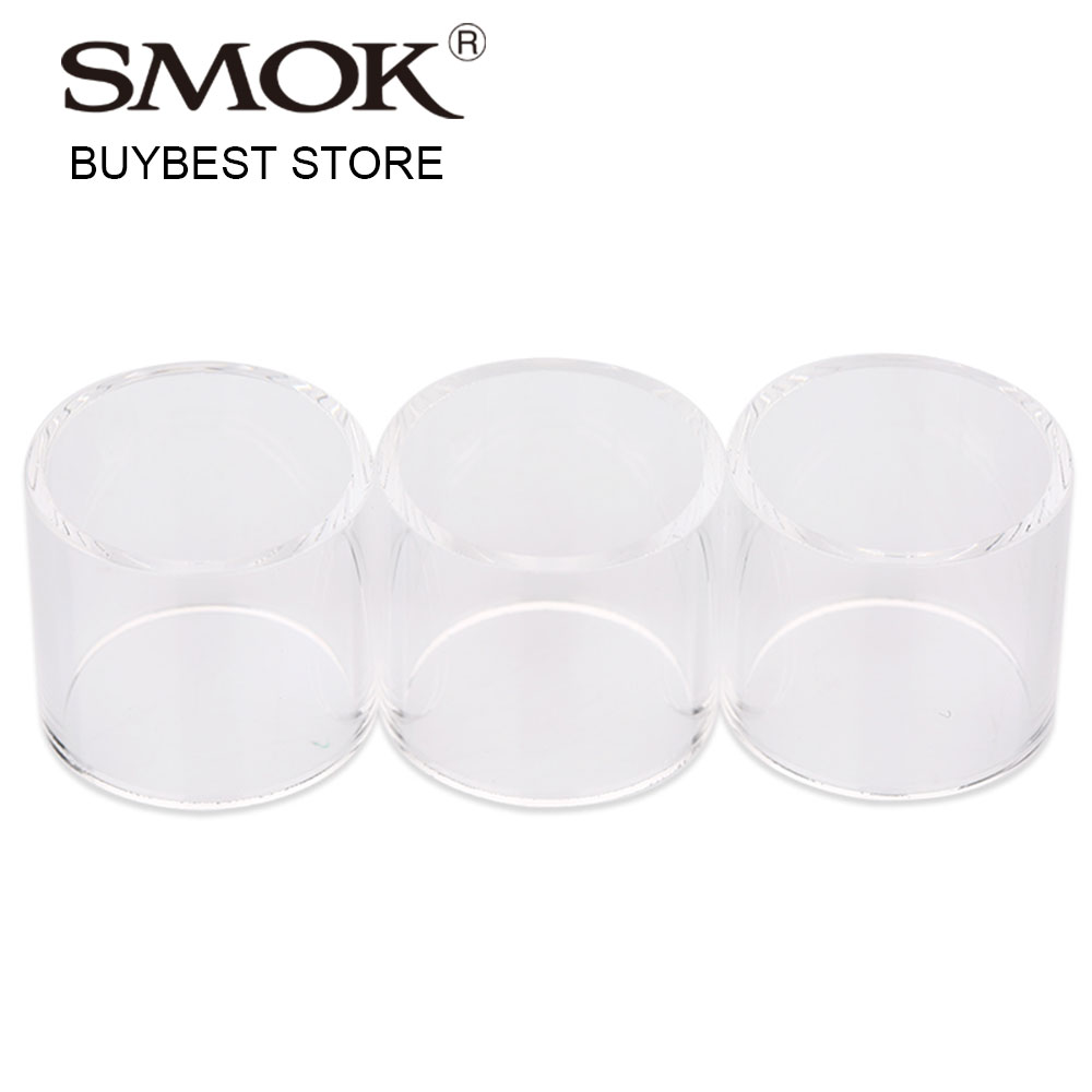 100% Original 3pcs SMOK TFV8 Big Baby Replacement Glass Tube for RBA 5ml for TFV8 Big Baby tank with V8 Baby RBA Coil Only E-cig