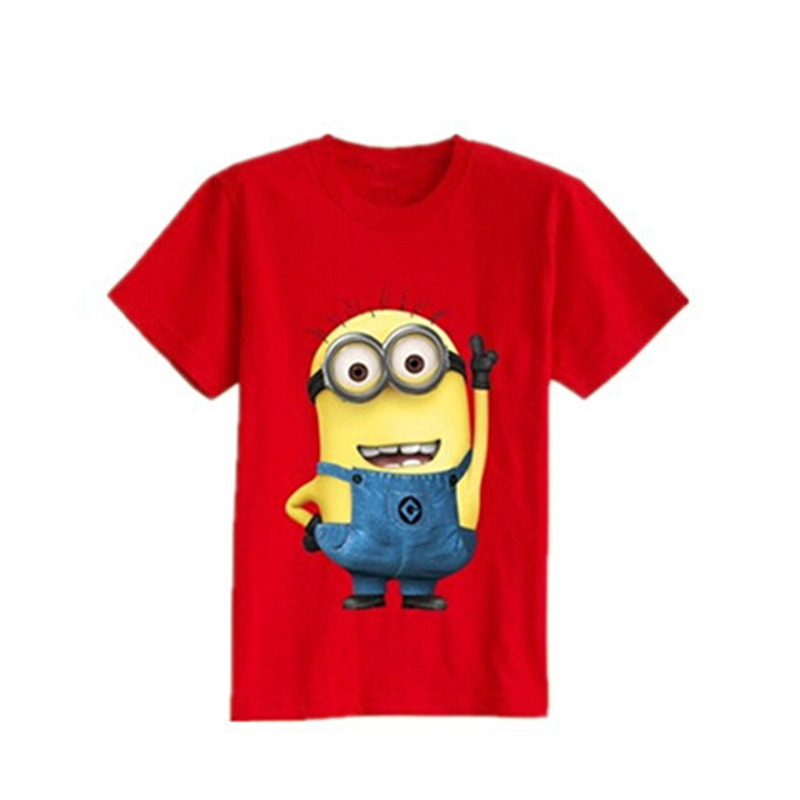 055b12feabc HOT 2016 New children clothes boys girls unisex despicable me short sleeve  t shirt children minions-in T-Shirts from Mother & Kids on Aliexpress.com  ...