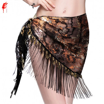 Wholesale Belly Dance Clothes Spandex Belt Girls Belly Dance Hip Scarf  The Waist Belt Of Lady