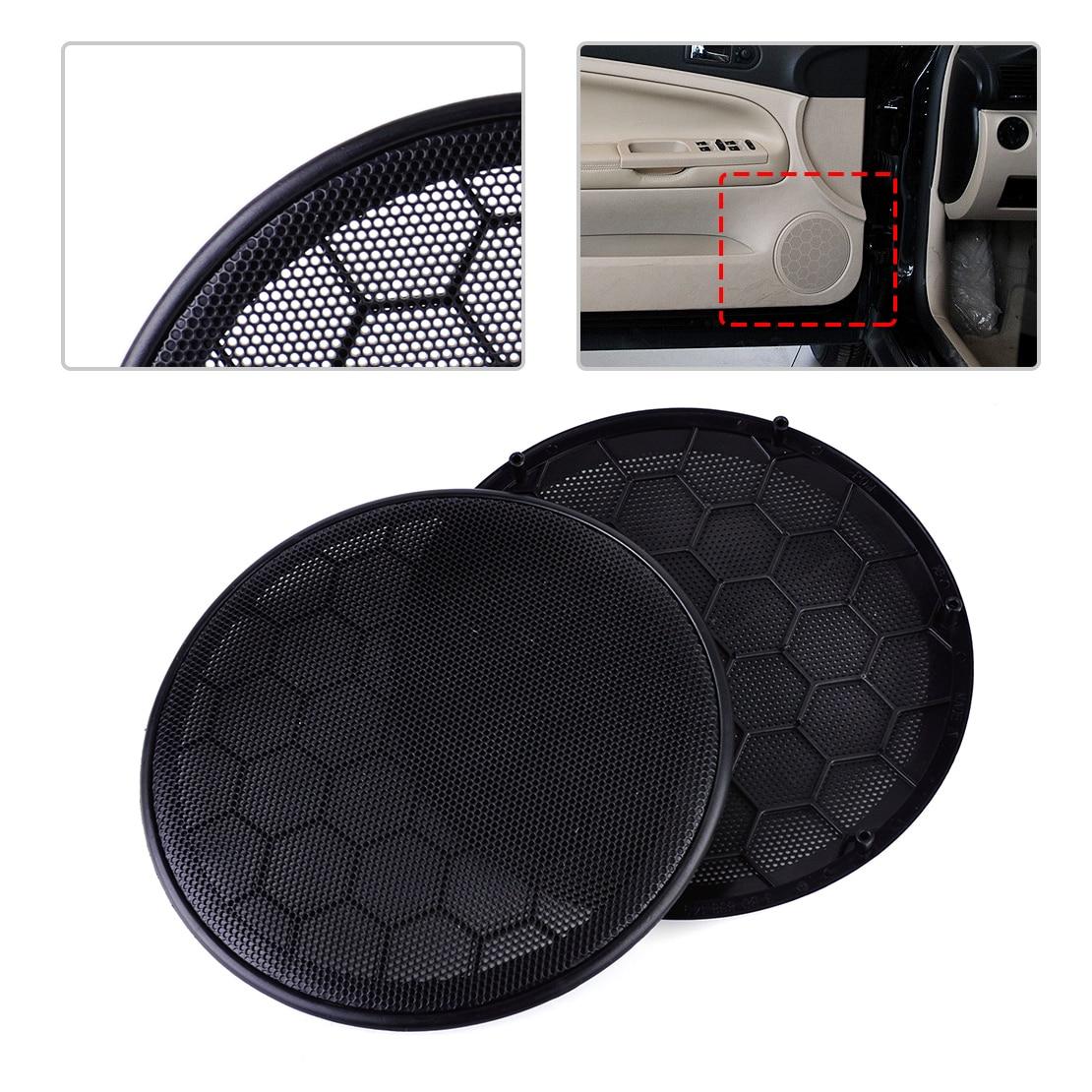 hight resolution of beler 2pcs 17cm left right black door speaker cover grill 3b0868149 3b0 868 149 for vw passat jetta golf 2000 2002 2003 2004