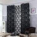Geometria cortinas para sala de estar tecidos para cortinas painel cortina da janela semi-blackout cortinas do quarto