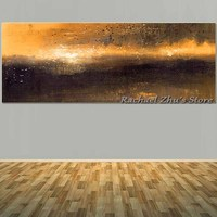 Super Large Size Hand Painted Abstract Wall Pictures Oil Painting On Canvas Abstract Texture Painting Living