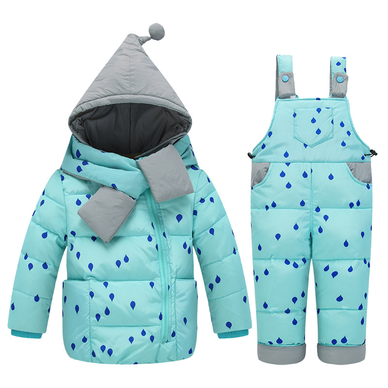 c7de10b0a07c Newbron Baby Boy Clothes Sets Winter Baby Snowsuit Infant Down ...