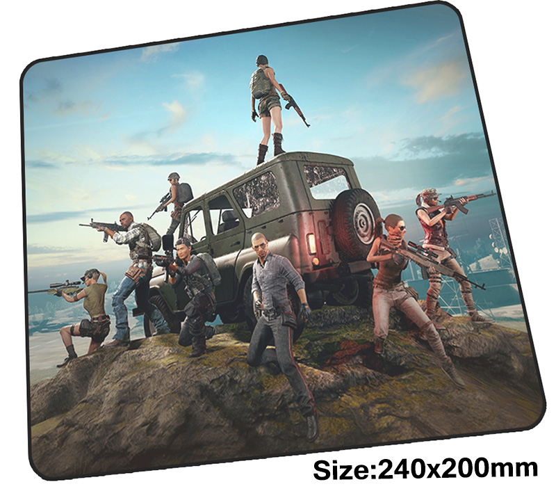 playerunknowns battlegrounds mouse pad gamer 24x20cm notbook mouse mat Domineering gaming mousepad pad mouse PC desk padmouse ...