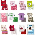 New Arrival Girl's Summer Pajamas Children Clothing Sets Colorful Baby Girl Clothes Outfits T-Shirts Shorts Cheapest
