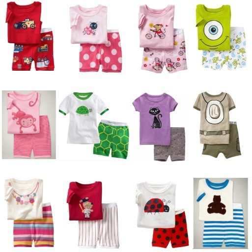 2e800925fe71 Detail Feedback Questions about New Arrival Girl s Summer Pajamas ...