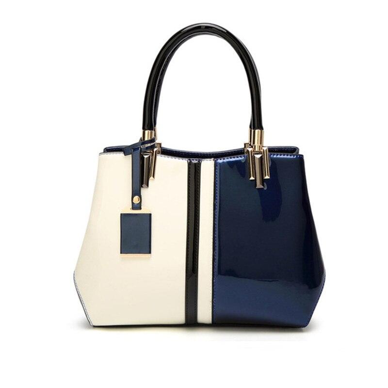 Patent leather women's handbags 2017 New women's Purse female shoulder bag women top handle wedding handbag bolsa feminina totes patent leather handbag shoulder bag for women