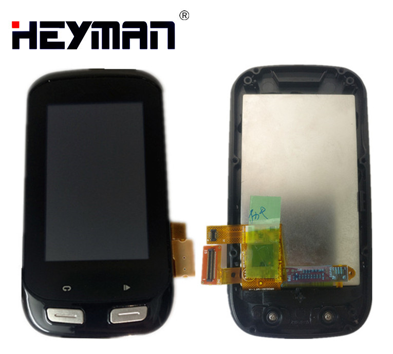Original LCD For GARMIN EDGE 1000 LCD Display Touch Screen Digitizer Glass Replacement With Frame Bicycle GPS
